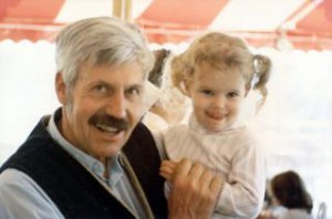 Bill Wagner with his granddaughter Ginny Lee